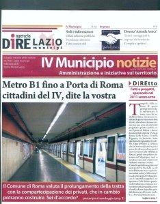 Metro B1, la partecipazione ex post.