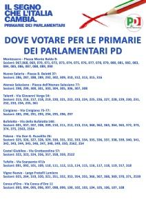 primarie parlamentari dove si vota seggi