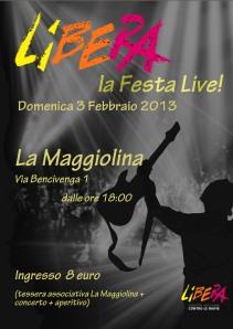 Libera contro la mafia 3 febbraio 2013